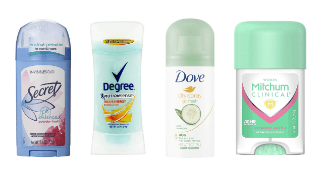 Best Deodorants for Menopause